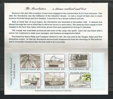 Norfolk 1999 The History Of The Resolution Booklet Y.T. C 660 ** - Ile Norfolk