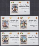 D206. Burundi - MNH - Famous People - John Wayne - Deluxe - Imperf - Célébrités