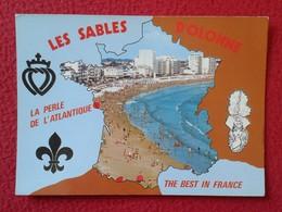 POSTAL CARTE POSTALE POST CARD POSTCARD FRANCIA FRANCE LES SABLES D'OLONNE LA PERLE DE L'ATLANTIQUE THE BEST VER FOTOS - Francia