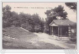 30) Bagnols.- (Gard) Jardin De Mont Cotton  - Le Théâtre - Bagnols-sur-Cèze