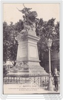 30) Bagnols.- (Gard)  Le Monument Des Combattants , élevé à La Mémoire Des Soldats Du Canton Morts Pour La Patrie - Bagnols-sur-Cèze