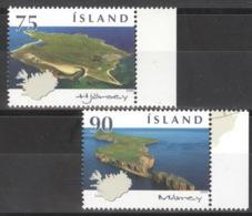 Island 1219/20 Seitenrand ** Postfrisch - 1944-... Republik