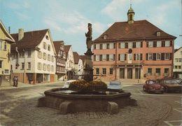 D-71540 Murrhardt - Martplatz Mit Rathaus - Cars - Ford Capri - VW - Backnang