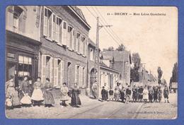 DECHY  59 PRES DE ANICHE  ( RUE LEON GAMBETTA  ) - France