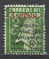 Ecuador 1935. Scott #RA31 (U) Tax Stamp ** - Equateur