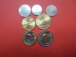 ARABIE SAOUDITE 2016 SERIE DE 7 MONNAIES UNC - Coins & Banknotes