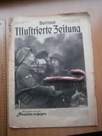 1944 WWII WW2 NAZI GERMANY ARMY MAGAZINE MILITARY Illustrierte Zeitung DEUTSCHE ZEITSCHRIFT Armor Helmet Helm Panzern - Police & Militaire