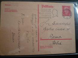 1932 Germania Cartolina Postale Targhetta Goethe - Culture