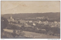 91) SAINT CHERON (CARTE PHOTO) VUE GENERALE - (2 SCANS) - Saint Cheron
