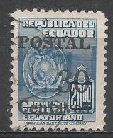 Ecuador 1952. Scott #570 (U) Arms Of Ecuador * - Equateur