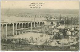 78 LE PECQ. Le Viaduc Crue Et Inodation De 1910 - Le Pecq