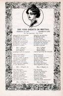 Des Vers Interdits De Mistral / Article, Pris D`un Magazine / 1908 - Livres, BD, Revues