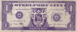 CARTA  MONETA     PUBBLICITARIA   STEELPORT CITY --U.S.A.  2  PEZZI - Monnaies & Billets