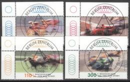 BRD 2031/34 Eckrand Links Oben O Sonderstempel Berlin - BRD