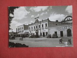 > Mexico  RPPC  Hotel Street View    Ref 3145 - Mexico
