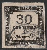 TAXE N° 6 Oblitéré - 1859-1955 Used