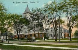 Pays Div -ref P688- Etats Unis D Amerique -united States Of America - Usa - St James Hospital -pontiac - Ill - - Etats-Unis