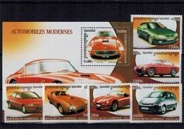 MVU-31122018_0001 MINT ¤ CAMBODGE 2001 KOMPL. SET ¤ CARS - AUTO'S - VOITURES ANCIENNES - Voitures