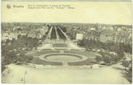 Bruxelles. Parc Du Cinquantenaire Et Avenue De Tervueren. - Bossen, Parken, Tuinen