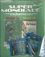SUPER   MONDIALE ALBUM FIGURINE    PANINI   FRANCE  1938-- BRASIL  1950-- ANCORA  CHIUSO  NEL  CELOFAN - Sport