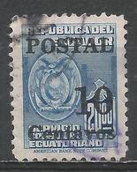 Ecuador 1953. Scott #566 (U) Arms Of Ecuador * - Equateur