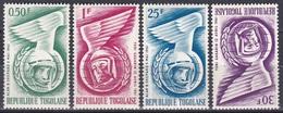 Togo 1962 Weltall Weltraum Kosmos Space Raumfahrt Astronautics Astronauten Kosmonauten Gagarin Shepard, Mi. 335-8 ** - Togo (1960-...)