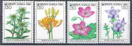 1994 COREE SUD 1655-58** Fleurs - Corée Du Sud