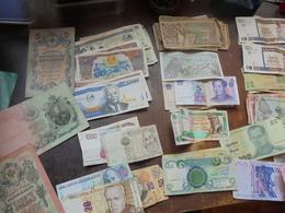 BEAU VRAC-BILLETS ANCIENS/RECENTS  (LA PLUPARTS CIRCULES) - Lots & Kiloware - Banknotes