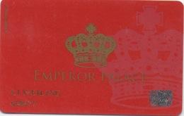 Carte De Membre Casino : Emperor Palace Macau Macao - Cartes De Casino