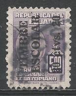 Ecuador 1951. Scott #RA62 (U) Arms Of Ecuador * - Equateur
