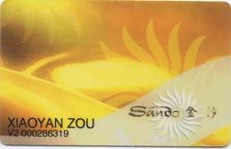Carte De Membre Casino : Sands 金沙 Macau Macao - Cartes De Casino