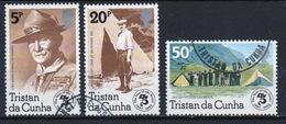 Tristan Da Cunha 1982 Complete Set Of Stamps Commemorating 75th Anniversary Of Boy Scout Movement. - Tristan Da Cunha
