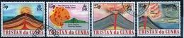 Tristan Da Cunha 1982 Complete Set Of Stamps Commemorating Volcanoes. - Tristan Da Cunha