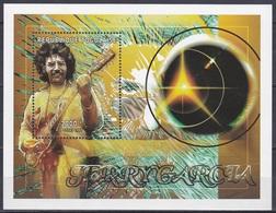 Togo 1997 Kunst Arts Kultur Culture Musik Music Sänger Singer Gitarrist Persönlichkeiten Jerry Garcia, Bl. 417 ** - Togo (1960-...)