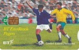 UK - BT Easyreach Pagers , Scotland World Cup, 2 £, Tirage 11.000, 08/98, Mint - Verenigd-Koninkrijk