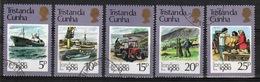 Tristan Da Cunha 1980 Complete Set Of Stamps Commemorating London 80 Stamp Exhibition. - Tristan Da Cunha