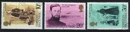 Tristan Da Cunha 1981 Complete Set Of Stamps Commemorating Edwin Dodgsons Arrival. - Tristan Da Cunha