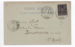 """1900 - CPA EXPOSITION UNIVERSELLE De PARIS Avec TàD """"PARIS EXPOSTION IENA"""" - Postmark Collection (Covers)"""