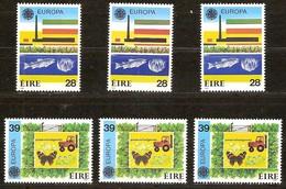 Irlande Ireland Ierland Cept 1986 Yvertn° 592-93 *** MNH Cote 75 Euro 3 Séries - 1949-... République D'Irlande