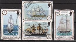 Tristan Da Cunha 1983 Complete Set Of Stamps Commemorating Sailing Ships 2nd Series. - Tristan Da Cunha