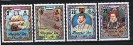 Tristan Da Cunha 1980 Complete Set Of Stamps Commemorating Sir Francis Drake. - Tristan Da Cunha