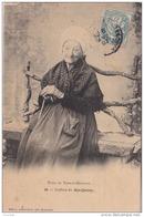 H21-  82) TYPES DU TARN ET GARONNE - COIFFURE DU BAS QUERCY (FEMME AGEE POSANT - EDITEUR ACHILLE BOUIS  MONTAUBAN) - France