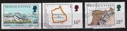 Tristan Da Cunha 1981 Complete Set Of Stamps Commemorating Early Maps. - Tristan Da Cunha