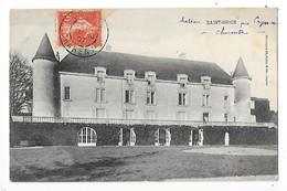 SAINT - BRICE   (cpa 16)  Le Château    -  L 1 - Cognac