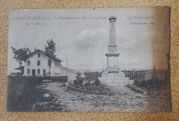 39 Longchaumois - Monument Aux Morts - France
