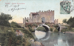 Italia / Italie - Roma - Ponte Nomentano - 1908 - ETAT Moyen - Ponts