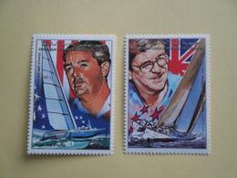 1988 Comores Yv PA268/9 ** MNH Bateaux Ships Sport Cote 20.00 €  Michel  875 / 876 - Comores (1975-...)