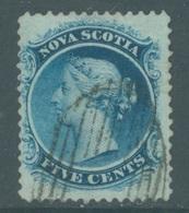 NOVA SCOTIA - USED/OBLIT. - 1860 - VICTORIA - Yv 7A  -  Lot 18946 - Nova Scotia