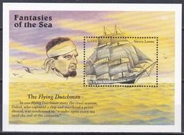Sierra Leone 1996 Seefahrt Seemannsgarn Yarn Sagen Legenden Myths Fliegender Holländer Flying Dutchman, Bl. 347 ** - Sierra Leone (1961-...)
