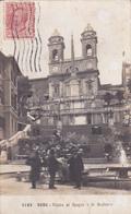 Italia / Italie - Roma - Piazza Di Spagna - La Scalinafa - 1920 - ETAT Moyen - Ponts